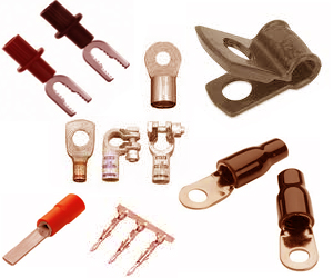 copper electrical pressed terminals exporter manufacturer